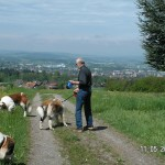 Anders - Cille - Coco - Kimmi i Schweiz