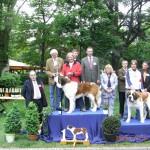 Bedste langh Bernhard til WUSB i Alsace - Coco